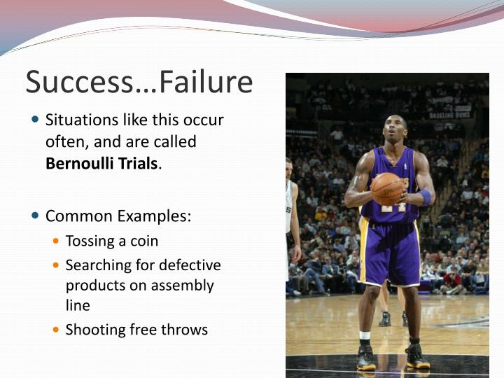 Success…Failure