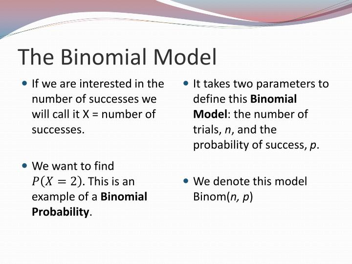 The Binomial Model