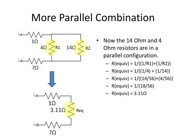 More Parallel Combination