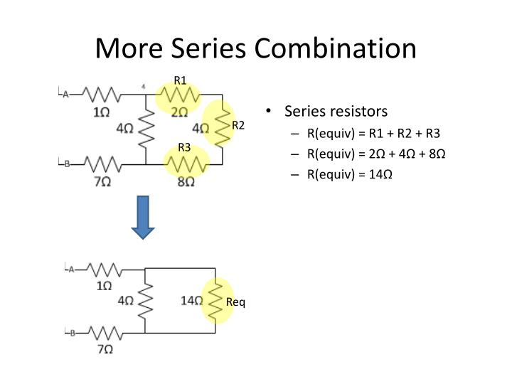 More Series Combination