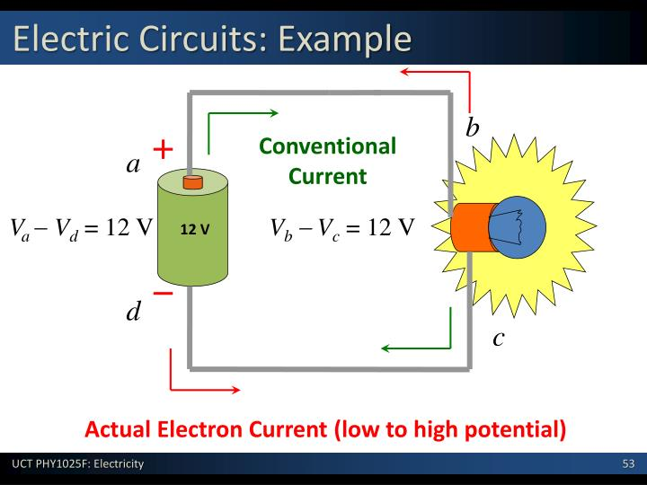 Electric Circuits: Example