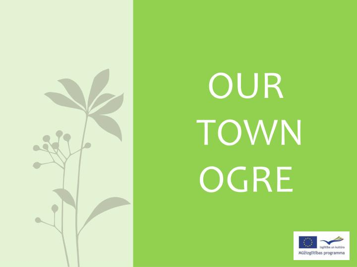 our town ogre n.