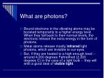 what are photons