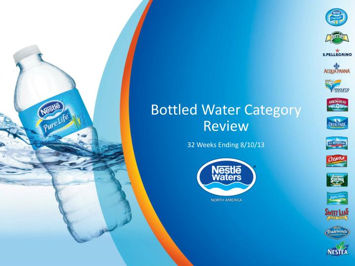 bottled water category review n.