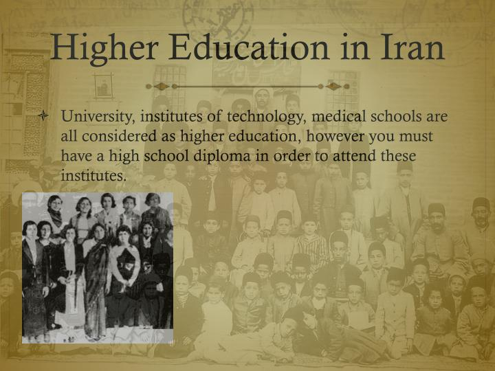 Higher Education in Iran