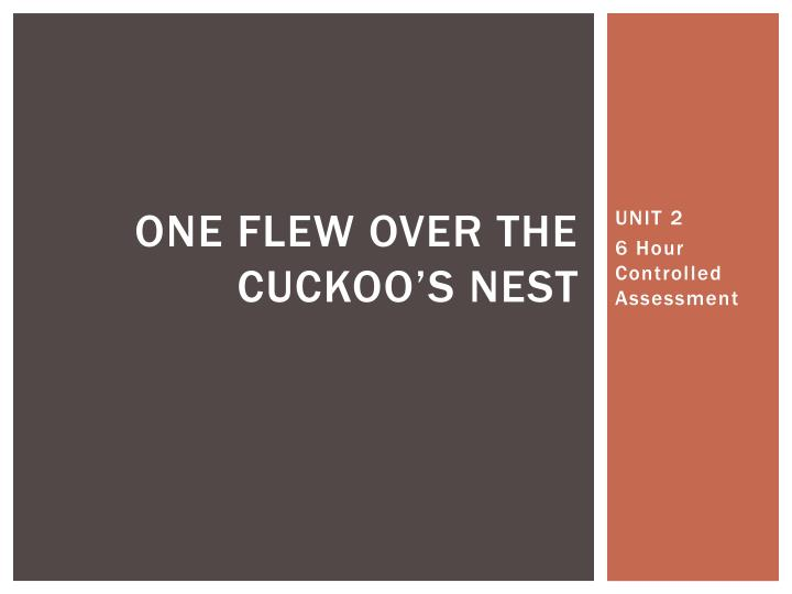 one flew over the cuckoo s nest n.