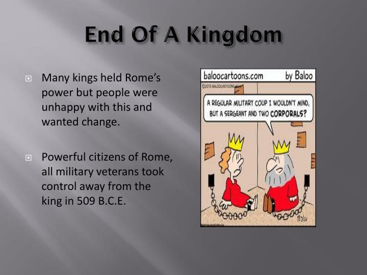 End Of A Kingdom