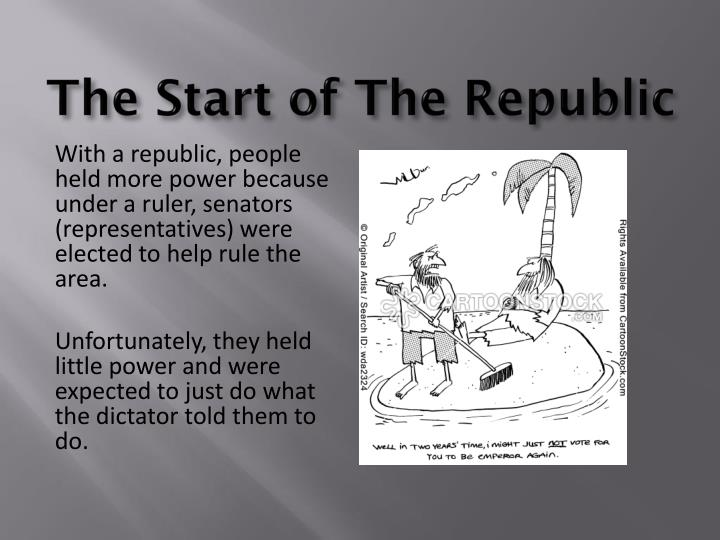 The Start of The Republic