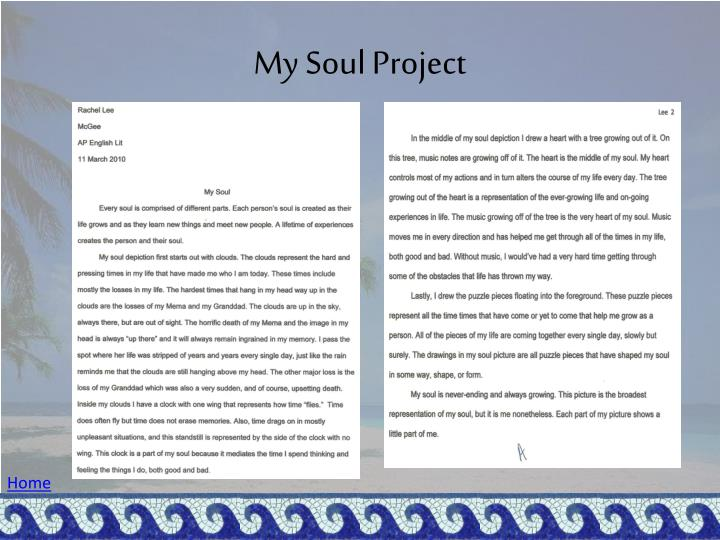 My Soul Project