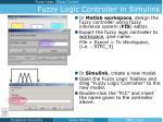 fuzzy logic controller in simulink