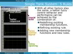 single tank system 5 rules2