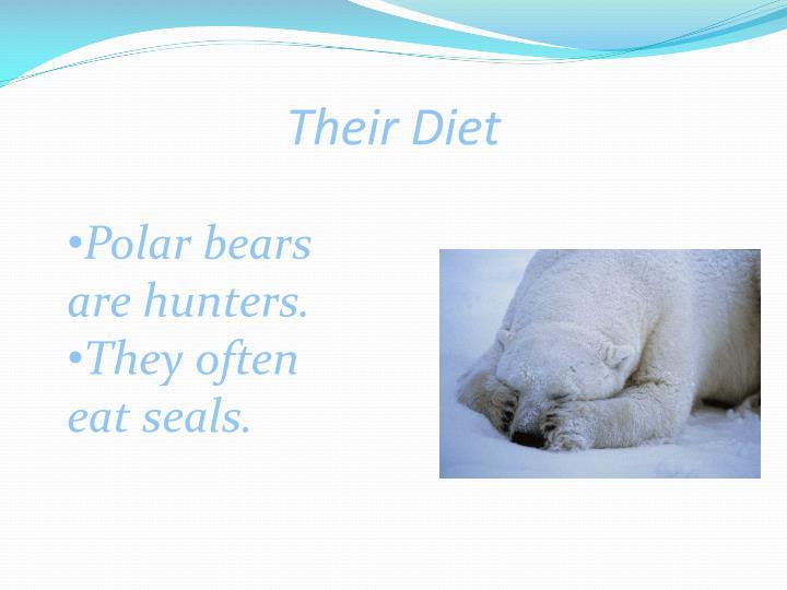 Their Diet