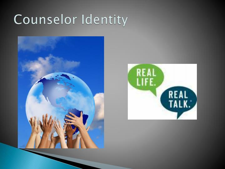 Counselor identity