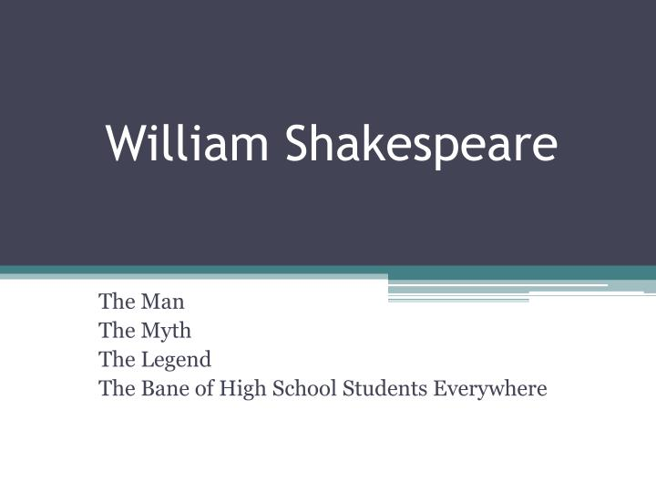 william shakespeare n.