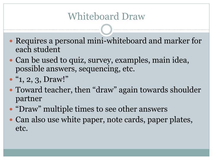 Whiteboard Draw