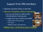 support from sfn members2