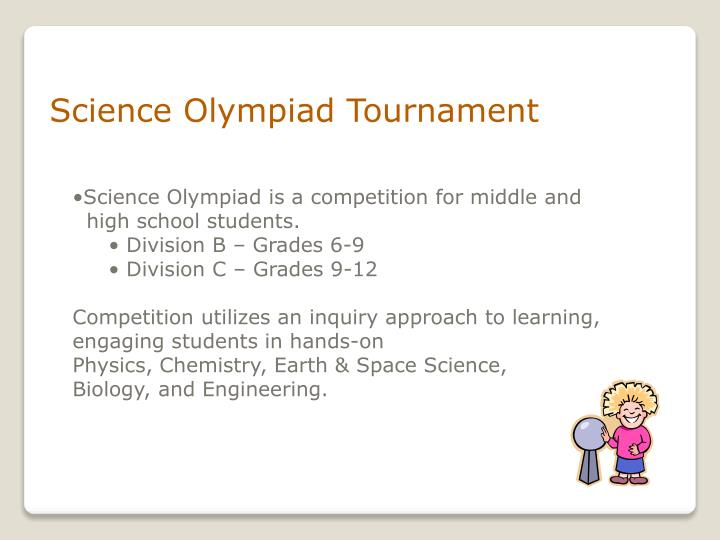 Science Olympiad Tournament