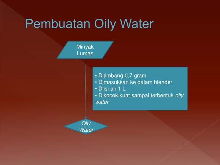 Pembuatan Oily Water