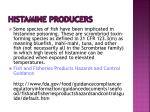histamine producers