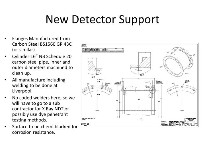 New Detector Support
