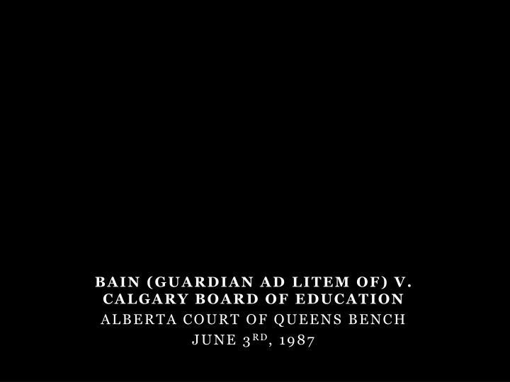 Bain (Guardian ad