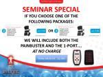seminar special