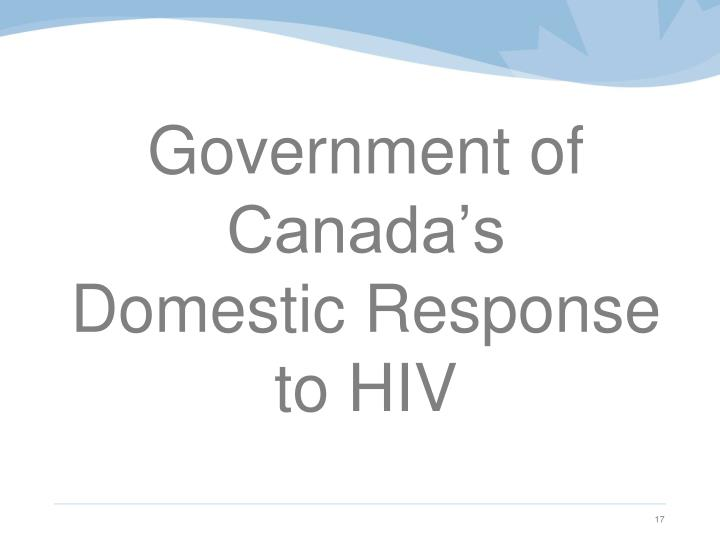 Government of Canada's
