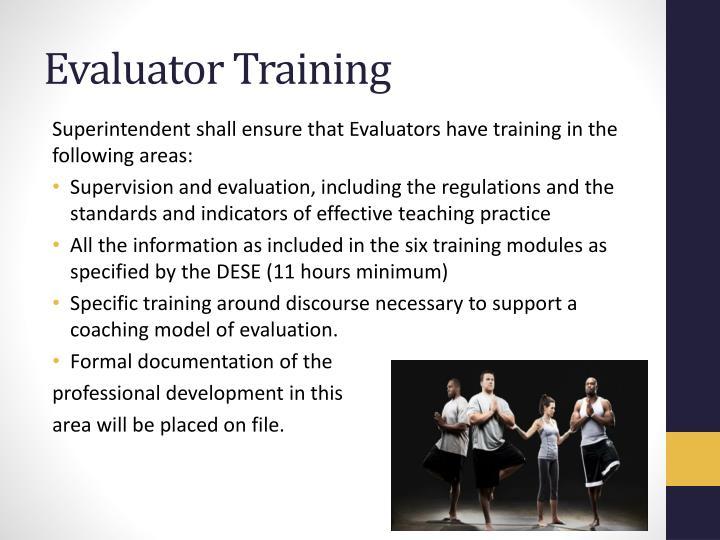 Evaluator Training