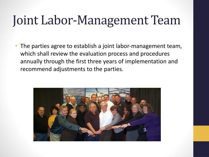 Joint Labor-Management Team