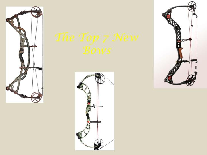 the top 7 new bows n.