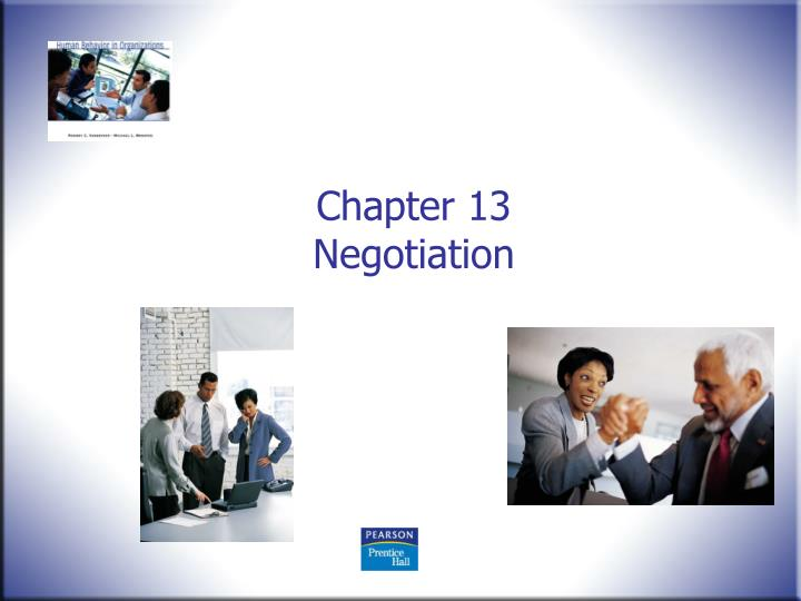 chapter 13 negotiation n.