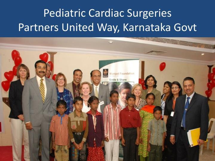 Pediatric Cardiac Surgeries