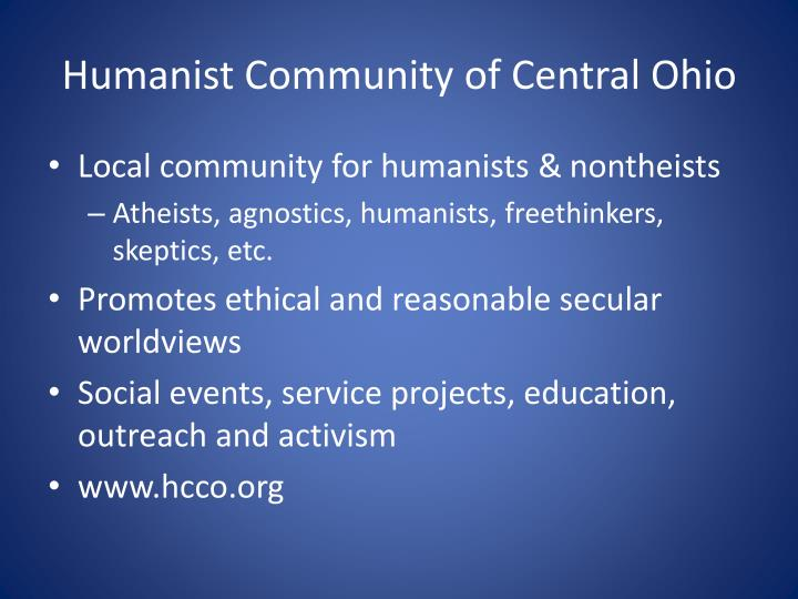 Humanist Community of Central Ohio