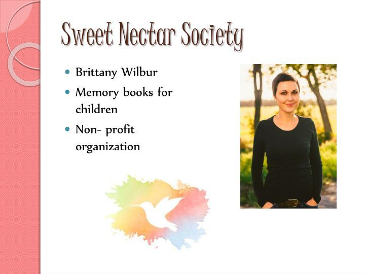 Sweet nectar society1