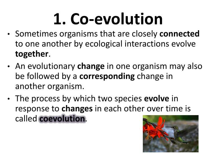 1. Co-evolution