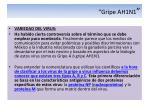 gripe ah1n17