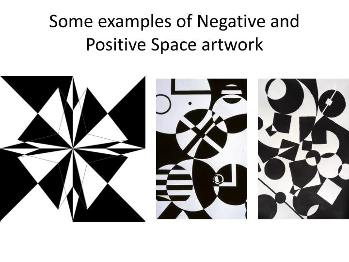 Some examples of Negative and