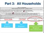 part 3 all households
