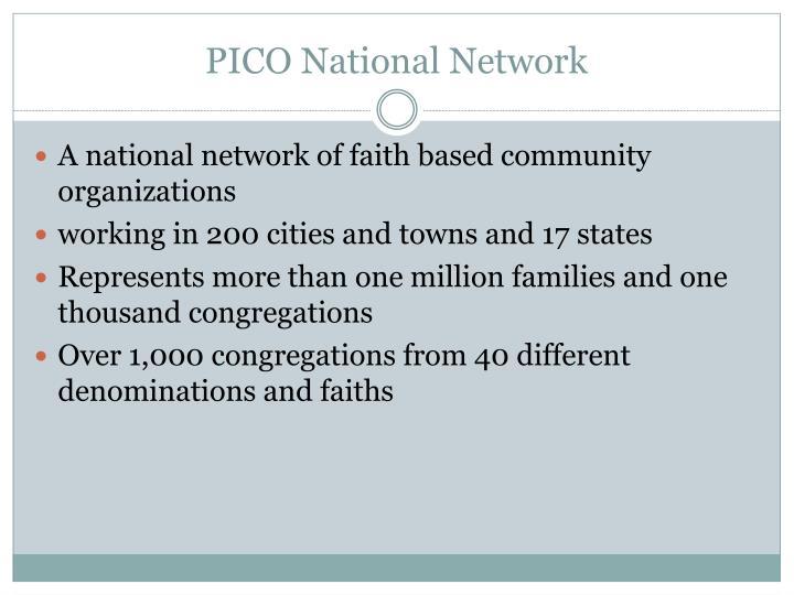 Pico national network