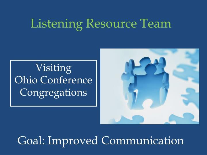 Listening Resource Team