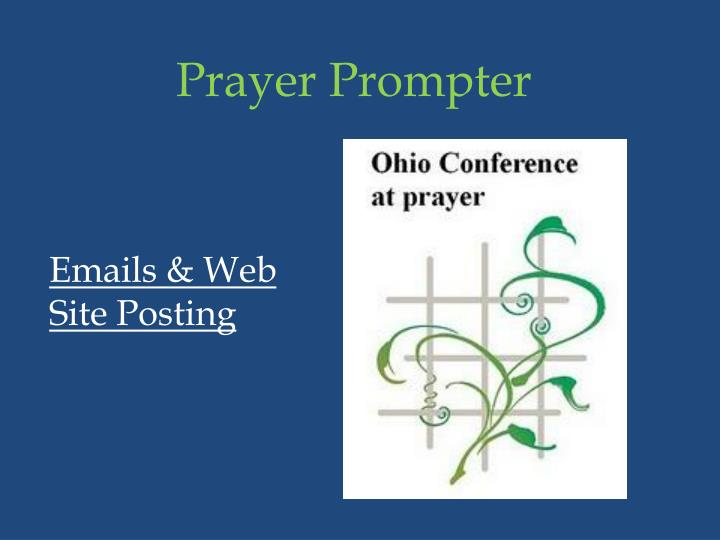 Prayer Prompter