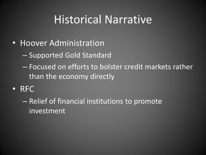 Historical Narrative