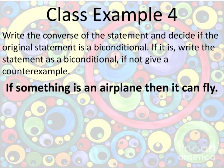Class Example 4