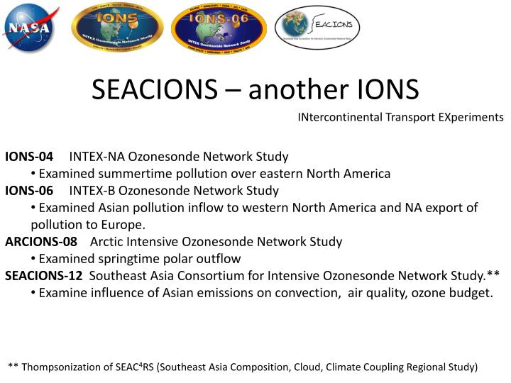seacions another ions n.