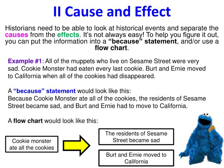 Ii cause and effect