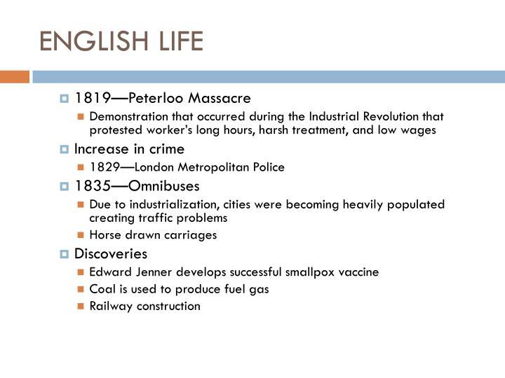 English life