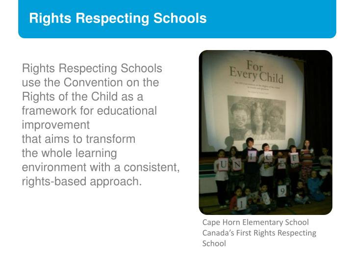 Rights Respecting Schools