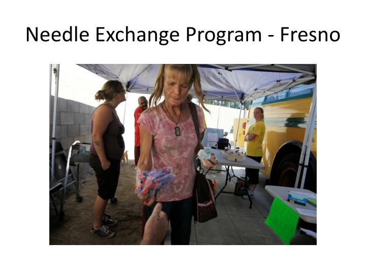 Needle exchange program fresno