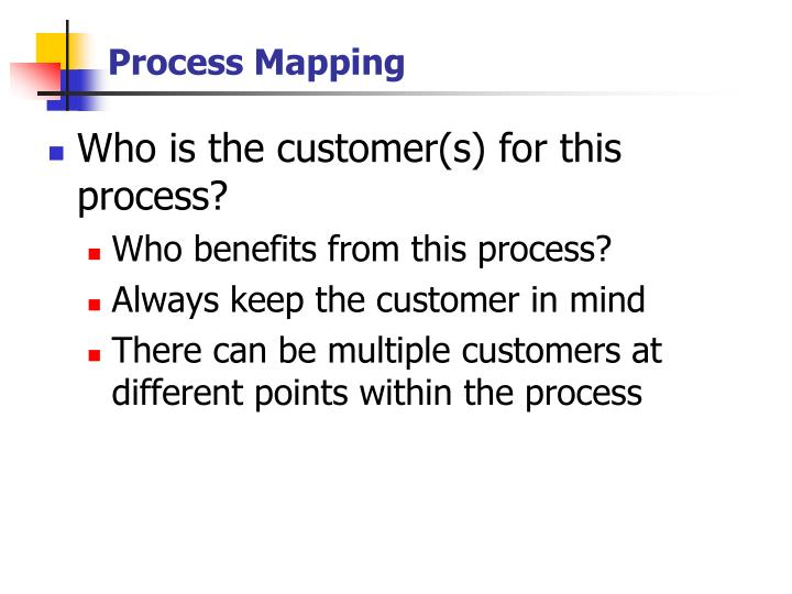 Process mapping2