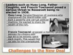 challenges to the new deal1